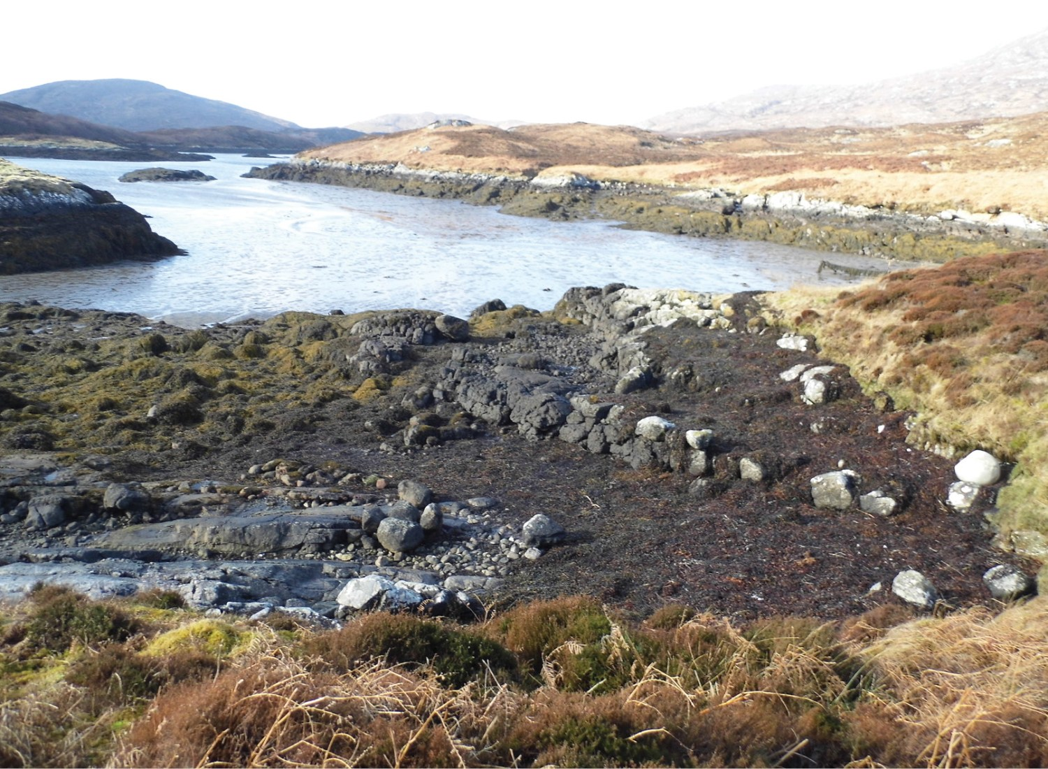 RIGHT This jetty near Havn, Loch Aoineart, probably dates from the kelping period.
