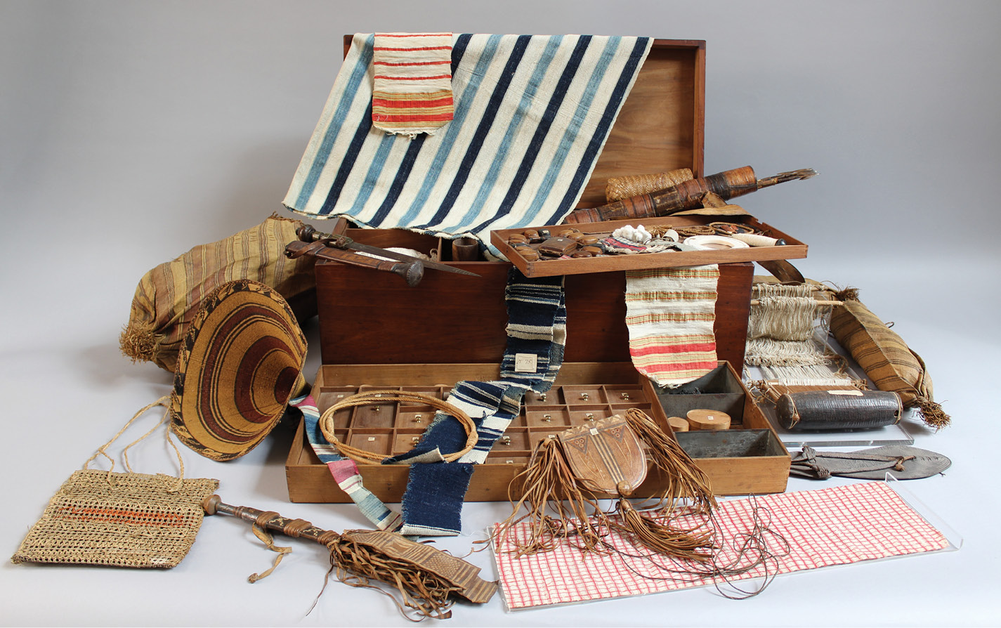 LEFT In his campaign to abolish slavery, Thomas Clarkson collected items from the trade to demonstrate its cruelty. He kept these items, which included handcuffs, leg-shackles, thumbscrews, whips, and branding irons, in a specially made chest, which is currently housed in the Wisbech & Fenland Museum.