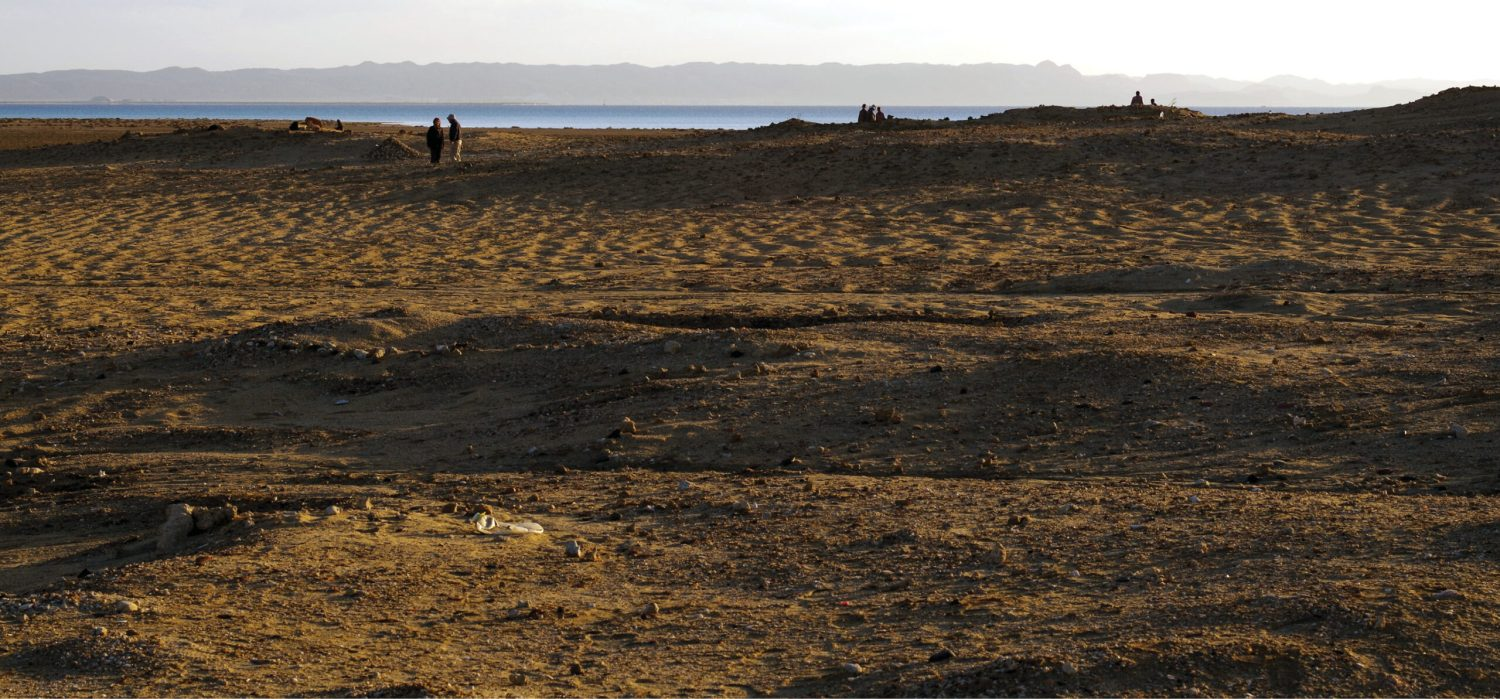 ABOVE Excavations at the site of Berenice have uncovered an early Roman animal cemetery.