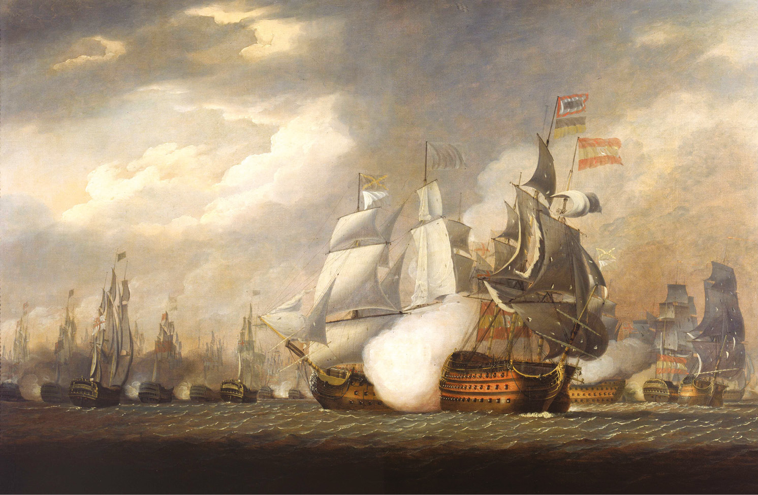 ABOVE The smashing of a Spanish fleet at the Battle of Cape St Vincent on 14 February 1797 torpedoed the main French plan for an invasion of the British Isles.