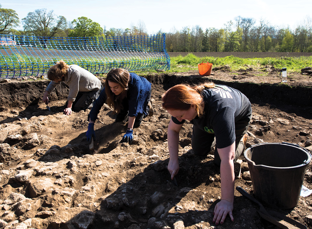 below Excavation remains a core skill, but it is only one of many that characterise a diverse archaeological profession. Not all archaeologists dig or even want to!