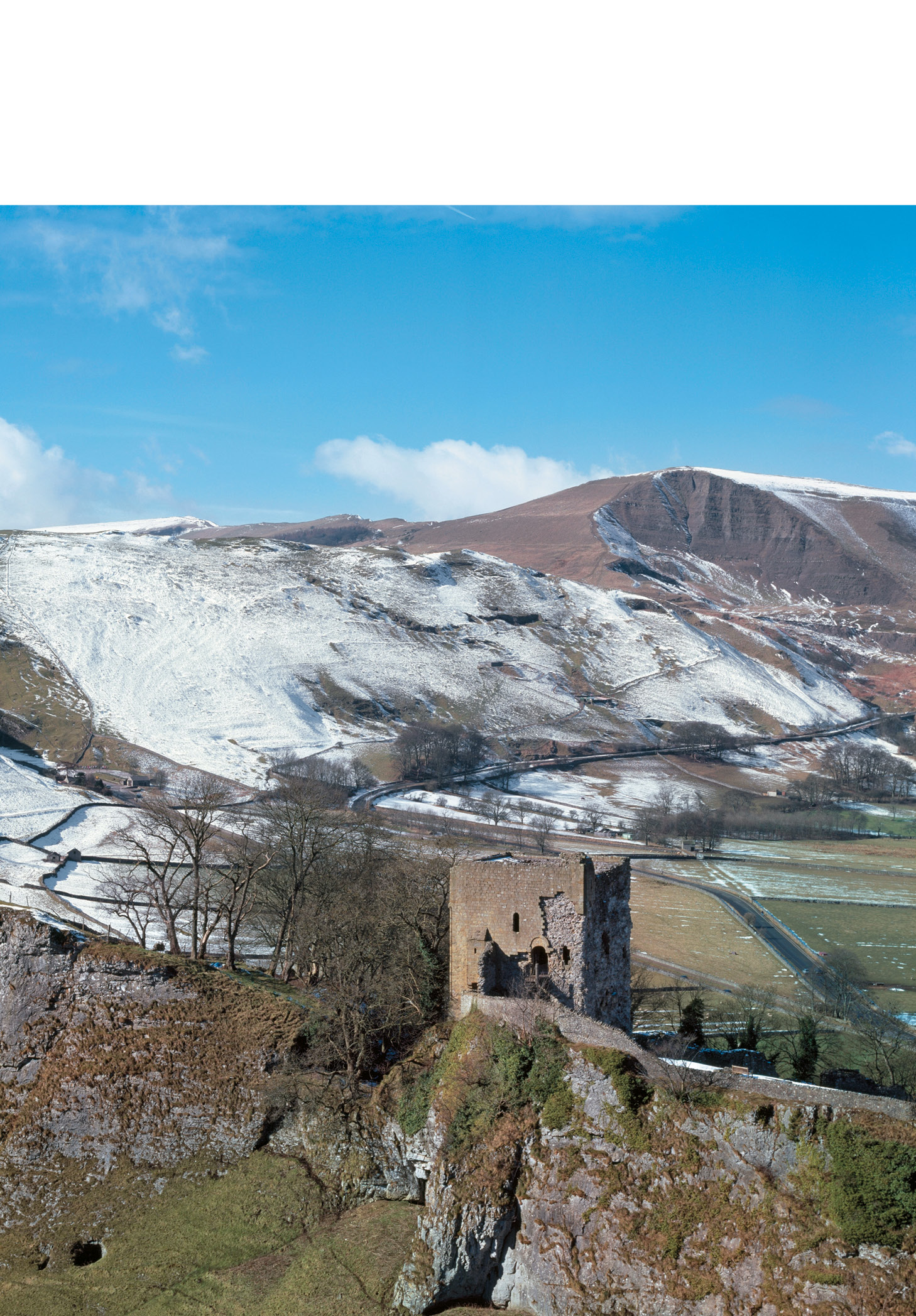 Peveril Castle, Derbyshire. Built by Henry II in 1175-1177, it looks like a classic Medieval stronghold, but we know that its functions were largely bureaucratic, combining tax collection with the administration of the royal forest and its hunting grounds.