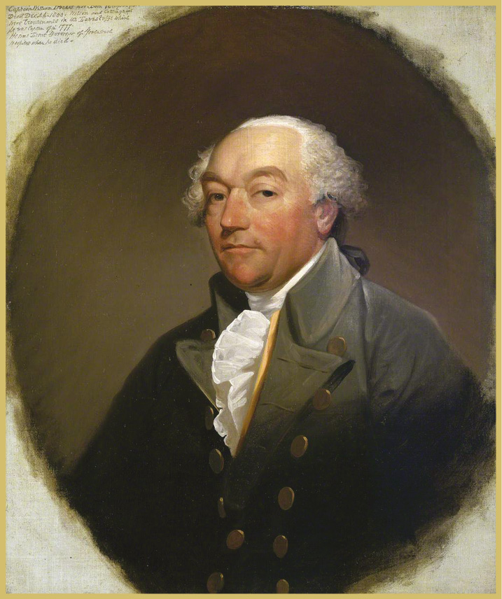 ABOVE Captain William Locker (1731-1800), Nelson's commander when he was serving as a lieutenant on the frigate Lowestoffe. Locker was a friend, a teacher, and a model.