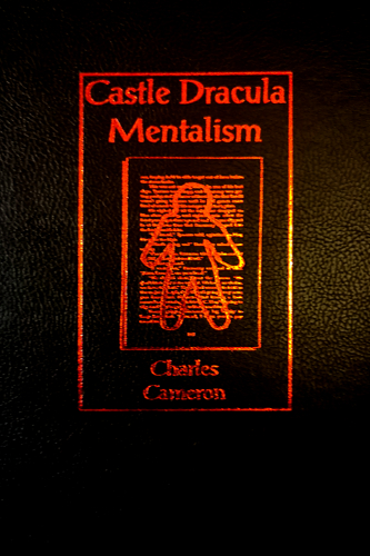 Castle Dracula Mentalism Book by Charles Cameron cover