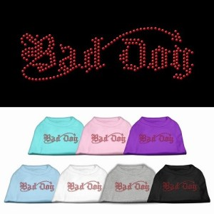 Bad Dog Rhinestone Dog Shirt | The Pet Boutique