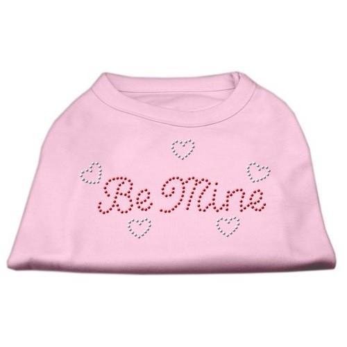 Be Mine Rhinestone Dog Shirt - Light Pink   The Pet Boutique