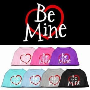 Be Mine Screen Print Dog Shirt | The Pet Boutique