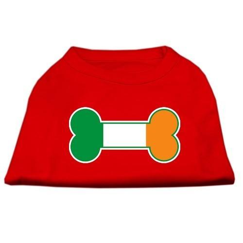 Bone Flag Ireland Screen Print Dog Shirt - Red | The Pet Boutique