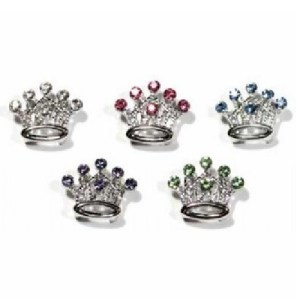Slider Crystal Crown Collar Charm | The Pet Boutique