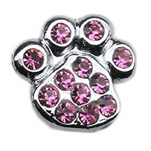 Slider Paw Charm - Pink | The Pet Boutique