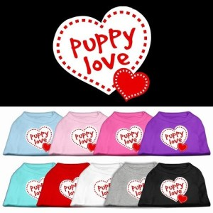 Puppy Love Screen Print Dog Shirt | The Pet Boutique