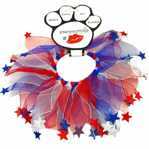 Red, White and Blue Star Smoocher | The Pet Boutique