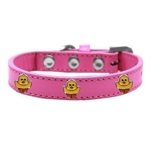 Chickadee Widget Dog Collar - Bright Pink   The Pet Boutique