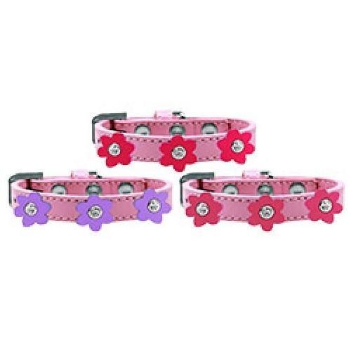 Flower Premium Dog Collar - Light Pink   The Pet Boutique