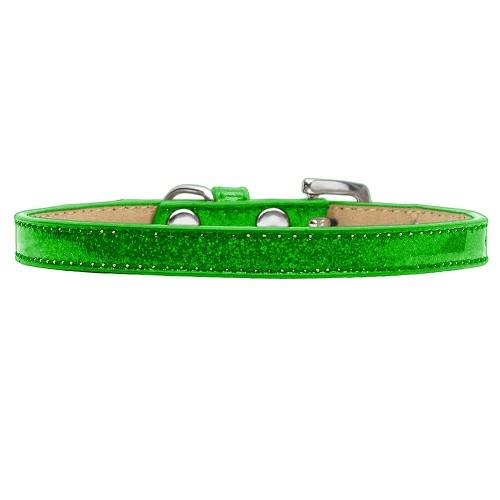 Plain Ice Cream Dog Collar - Lime Green   The Pet Boutique