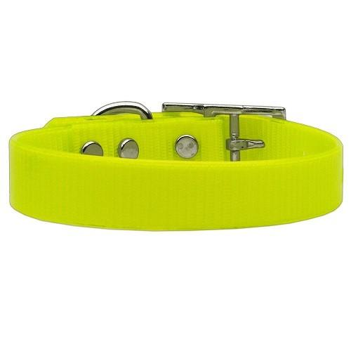Plain Tropical Jelly Dog Collar - Yellow | The Pet Boutique