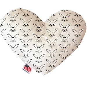 Bunny Face Heart Dog Toy | The Pet Boutique