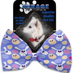 Chicks and Bunnies Pet Bow Tie Collar Accessory with Velcro | The Pet Boutique