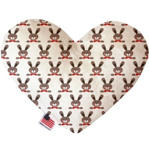 Dapper Rabbits Heart Dog Toy | The Pet Boutique