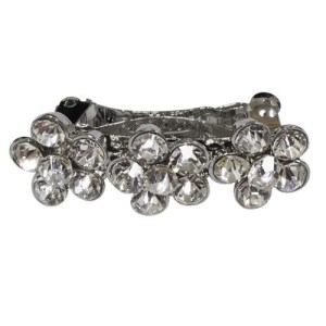 Flower Dog Hair Clip - Clear | The Pet Boutique