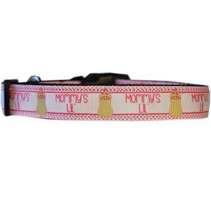 Mommy's Lil Peanut Nylon Cat Safety Collar   The Pet Boutique