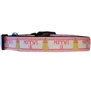 Mommy's Lil Peanut Nylon Cat Safety Collar | The Pet Boutique