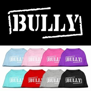 Bully Screen Printed Pet Shirt | The Pet Boutique