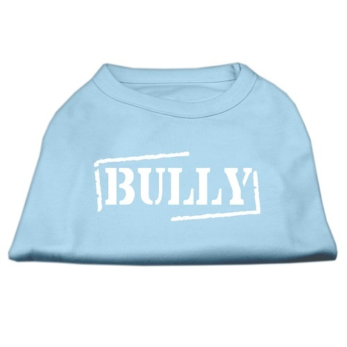 Bully Screen Printed Pet Shirt - Baby Blue | The Pet Boutique