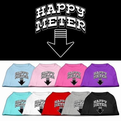 Happy Meter Screen Printed Dog Shirt | The Pet Boutique