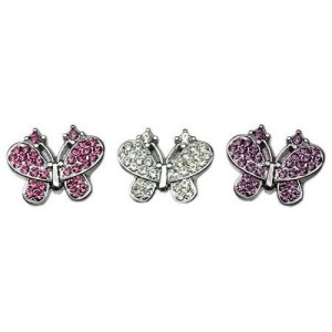 10mm Slider Butterfly Collar Charm | The Pet Boutique