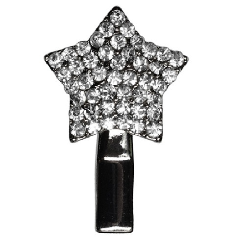Star Dog Hair Clip - Clear | The Pet Boutique