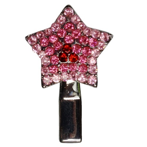 Star Dog Hair Clip - Pink | The Pet Boutique