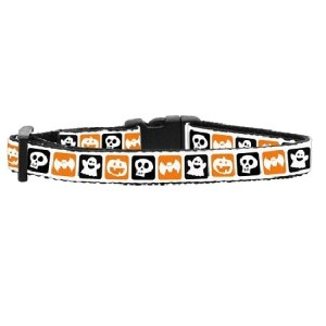 Classic Halloween Nylon Ribbon Cat Safety Collar | The Pet Boutique