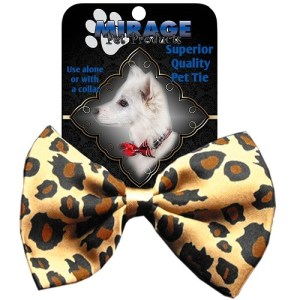 Leopard Pet Bow Tie | The Pet Boutique