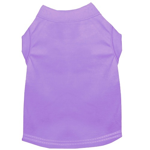 Plain Pet Shirt - Lavender | The Pet Boutique