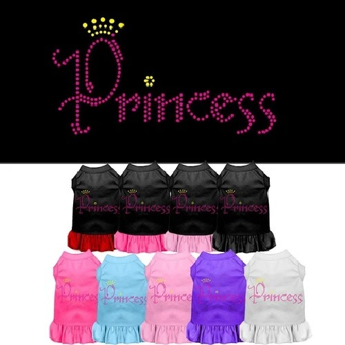 Princess Rhinestone Pet Dress | The Pet Boutique