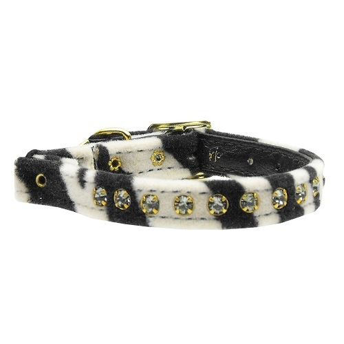 Animal Print Cat Safety Collar - Zebra | The Pet Boutique