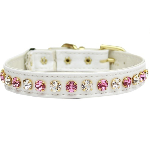 Deluxe Cat Collar - White | The Pet Boutique