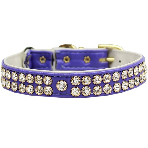 Swank Cat Safety Collar - Purple | The Pet Boutique