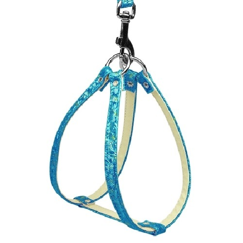 Twinkle Plain Harness - Blue | The Pet Boutique
