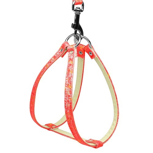Twinkle Plain Harness - Red | The Pet Boutique