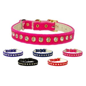Velvet Cat Safety Collar with Band | The Pet Boutique