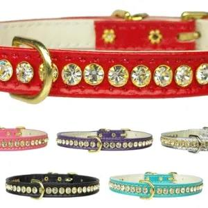 Beverly Clear Crystal Dog Collar | The Pet Boutique