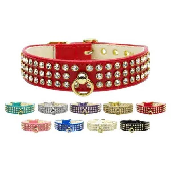 Clear Crystal #73 Dog Collar   The Pet Boutique