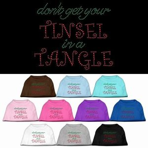Tinsel in a Tangle Rhinestone Pet Shirt | The Pet Boutique