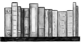An illustration of a stack of books.