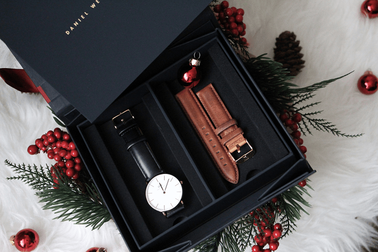 Coffret Daniel Wellington Montre et Bracelet interchangeable