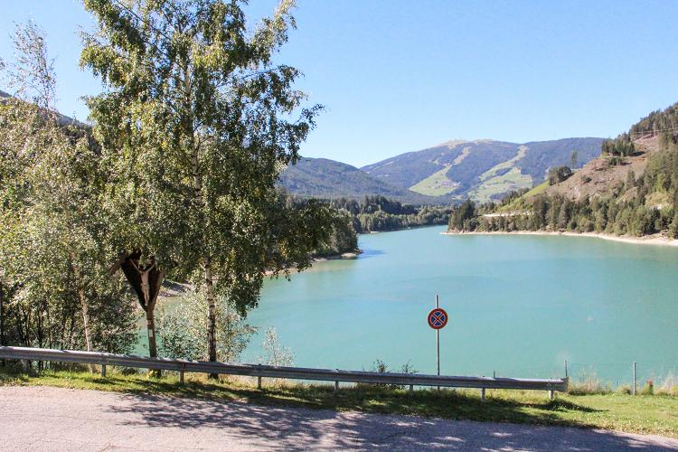 Route Italie Lac