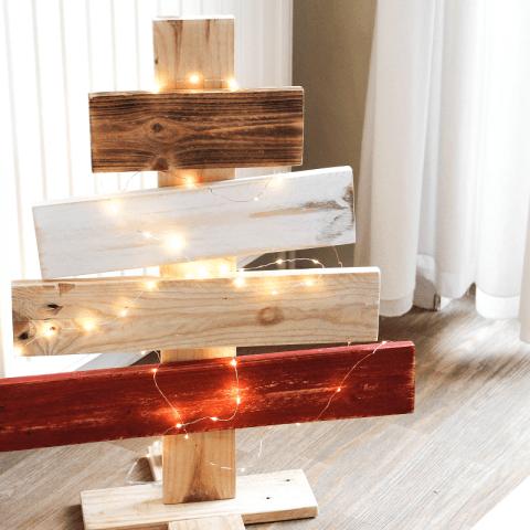 DIY : Créer son sapin de Noël en bois