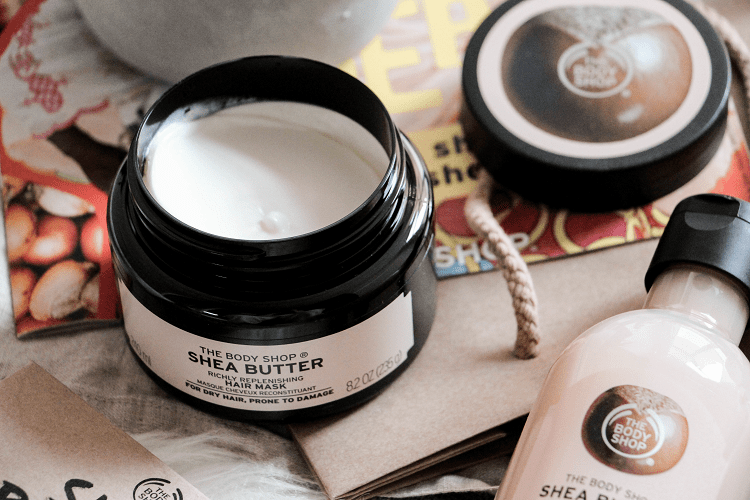 Masque cheveux karité The Body Shop